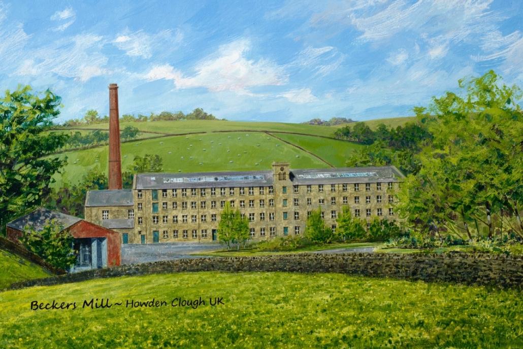 Fabrike waar Archibold Beckers matrassen gemaakt worden